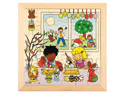 Easter Puzzle  Wooden Puzzle (36 pieces)