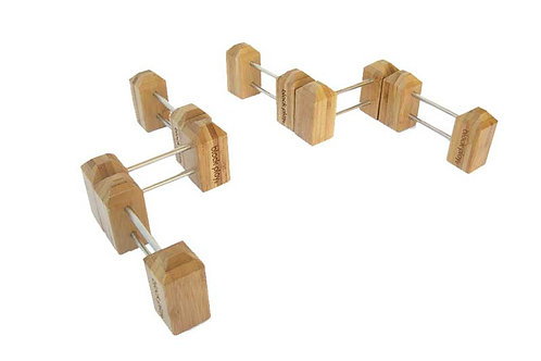 Block Play Chassis, Fence & Cars Set
