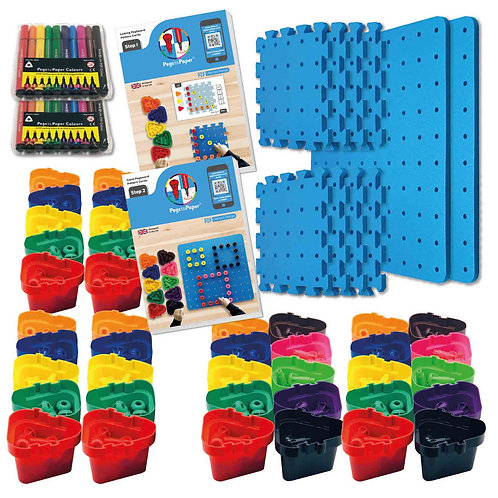 Pegs to Paper Step 1 & 2 Nursery Set