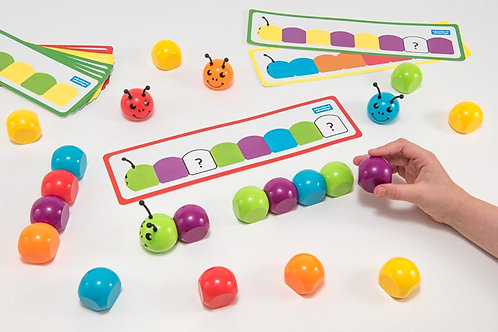Magnetic Pattern & Sequencing Caterpillar