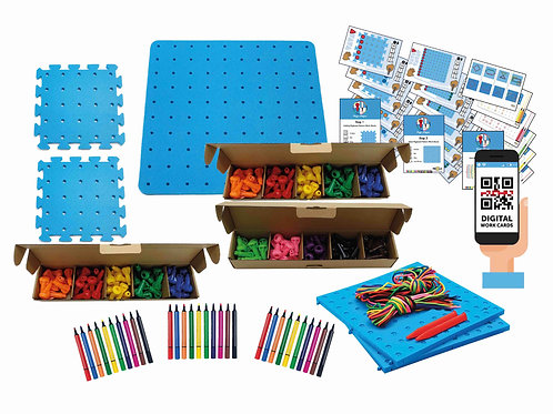 Complete Pegs to Paper Sets