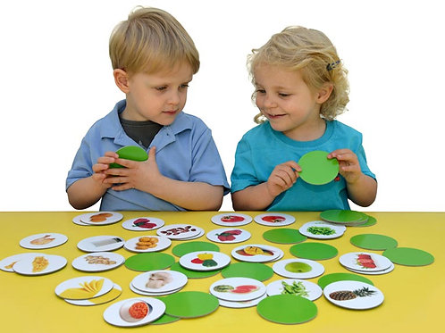 Healthy Eating Matching Pairs Game