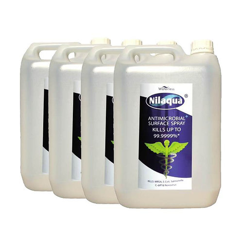 Nilaqua Surface Spray Refill 5L - 4 Pack