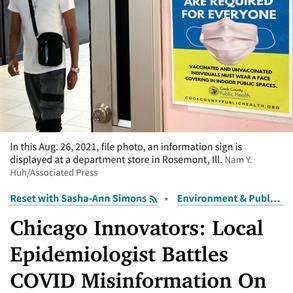 WBEZ Chicago - Chicago Innovators Series