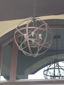 Armillary Porch Light