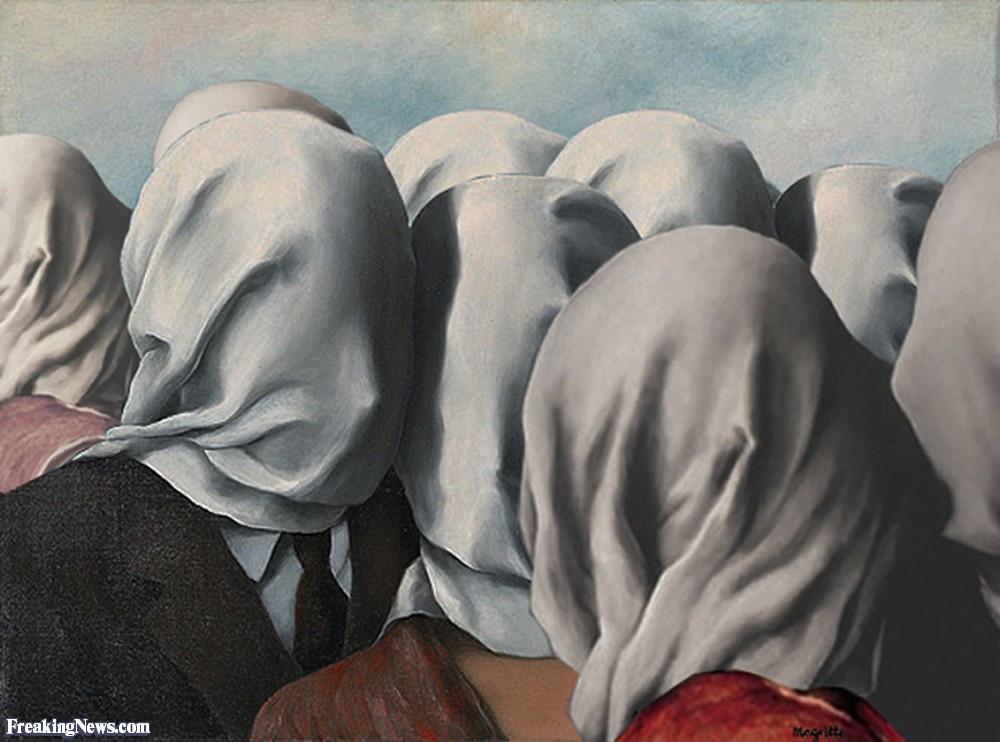 Burka Lovers - Magritte