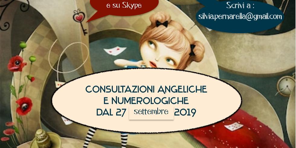 CONSULTAZIONI Angeliche, Numerologiche.