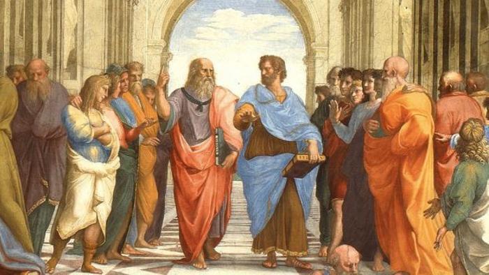 Scuola Di Atene - Particolare.