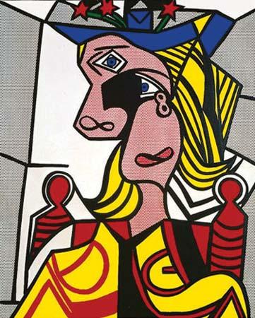 Femme au chapeau, 1962 : Roy Lichtenstein