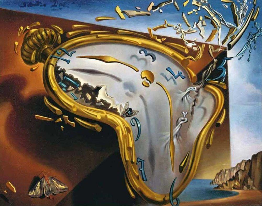 The melting watch - Salvador Dalì