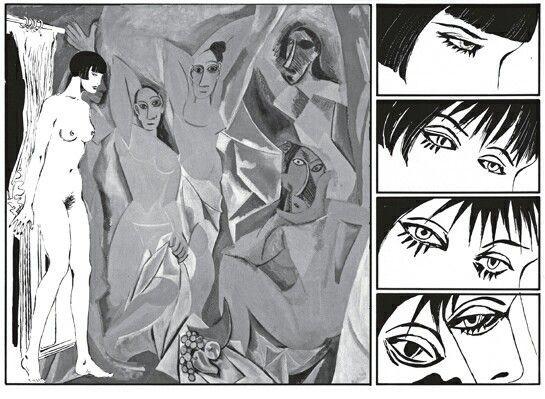Guernica e Valentina . Guido Crepax