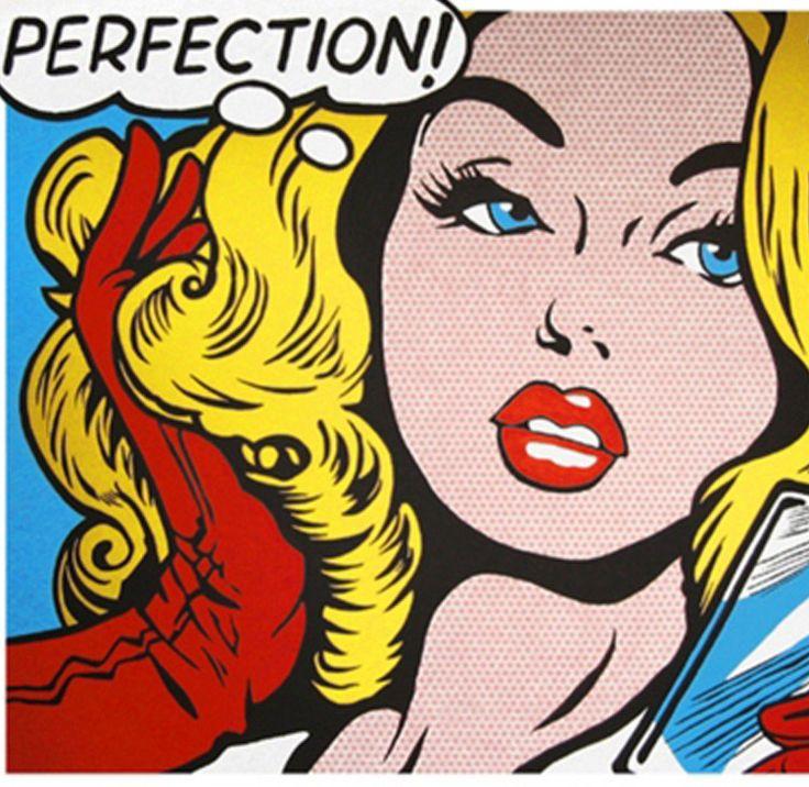 Roy Lichtenstein, Perfection! - Pop Art