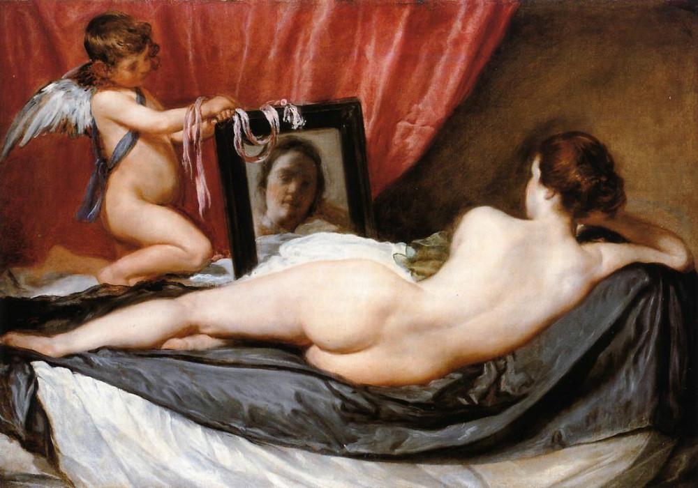 Venere e Cupido (Venere Rokeby) - Diego Velasquez