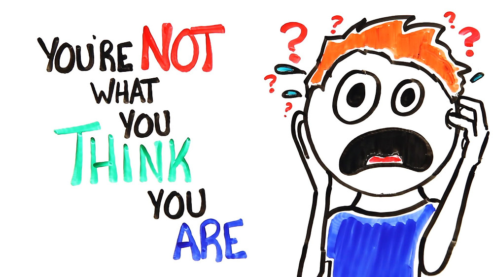 You are not what you think you are