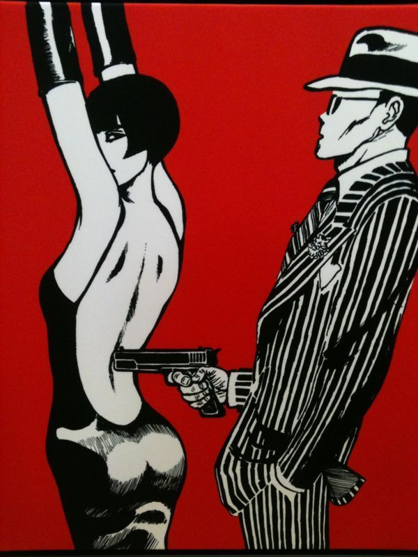 Guido Crepax - Valentina and the Gangster's weapons
