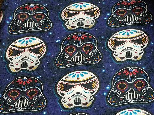 Dark Blue Star Wars Sugar Skulls