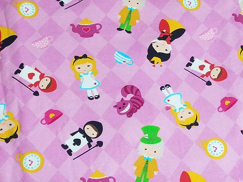 Pink Alice in Wonderland