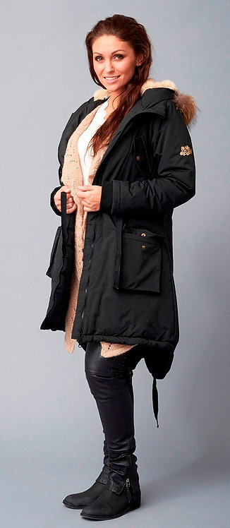 2800L - Parka coat - Black