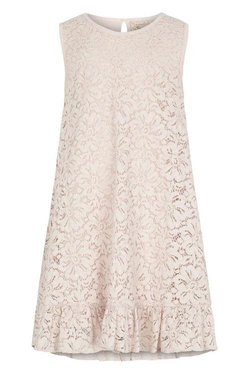 3735C - Cotton Lace Dress - Mauve