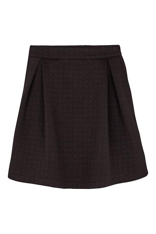 3146 - Bubble skirt – Black