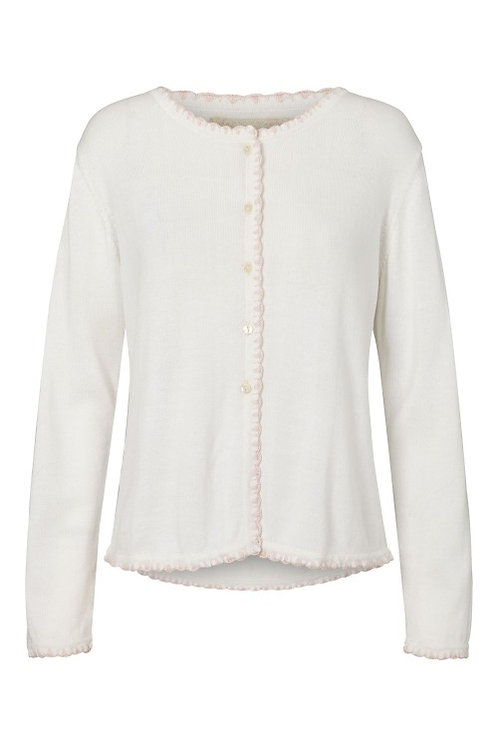 3739B - Cotton knit cardigan - Off.White