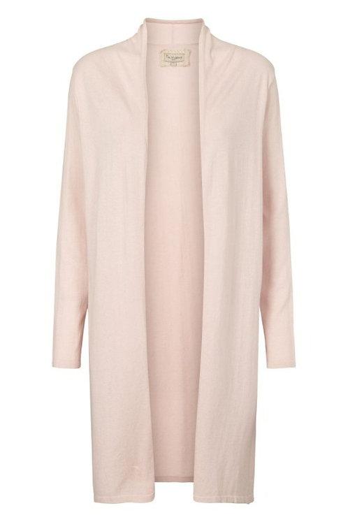 3745C - Cotton knit coat - Mauve