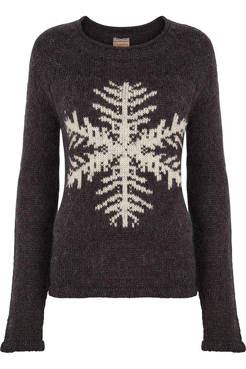 3238 - Sweater Mohair w.snowfleak