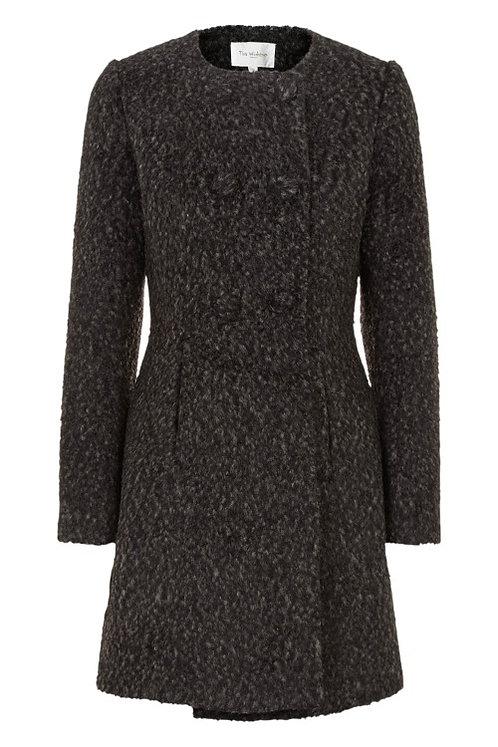 3173L - Wool Coat – Black