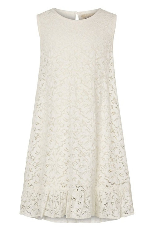 3735B - Cotton Lace Dress - Off.White