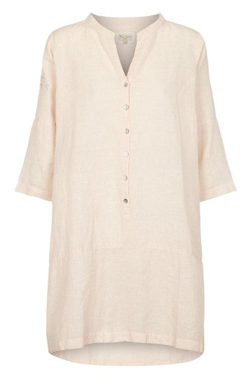 3716C - Linen Shirt - Mauve