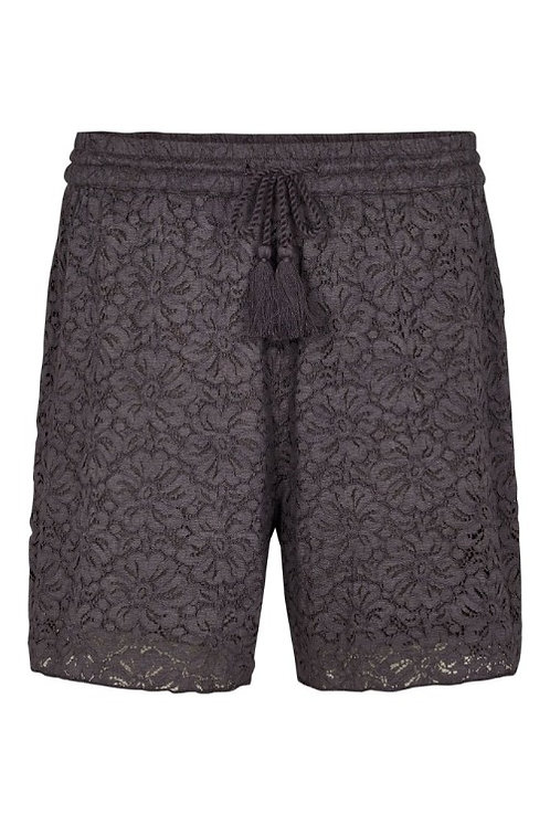 3733L - Lace Shorts - Plum kitten