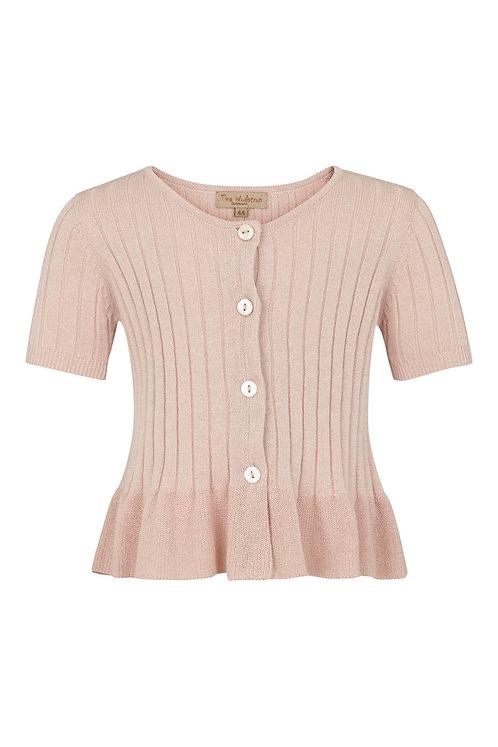 2749C - Short sleeve cotton knit - Rosa
