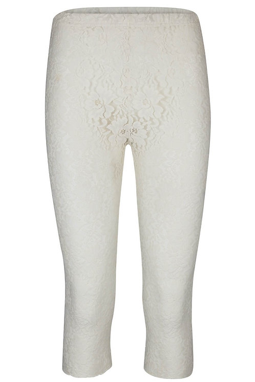 Lace Legging in Off.White