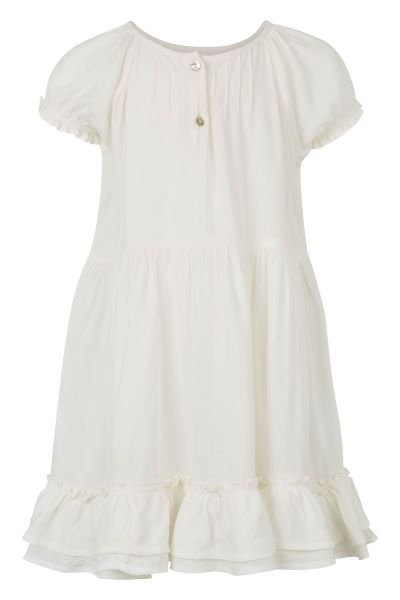 3385B - Viscose dress - Pearl
