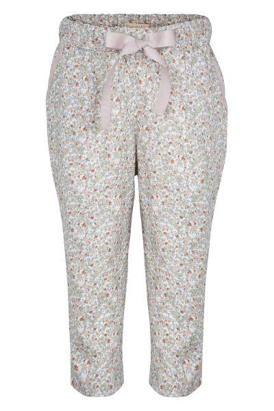 3360B - Loos fit pants - Flower print