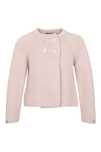 3279C - Cotten knit jacket - Mauve