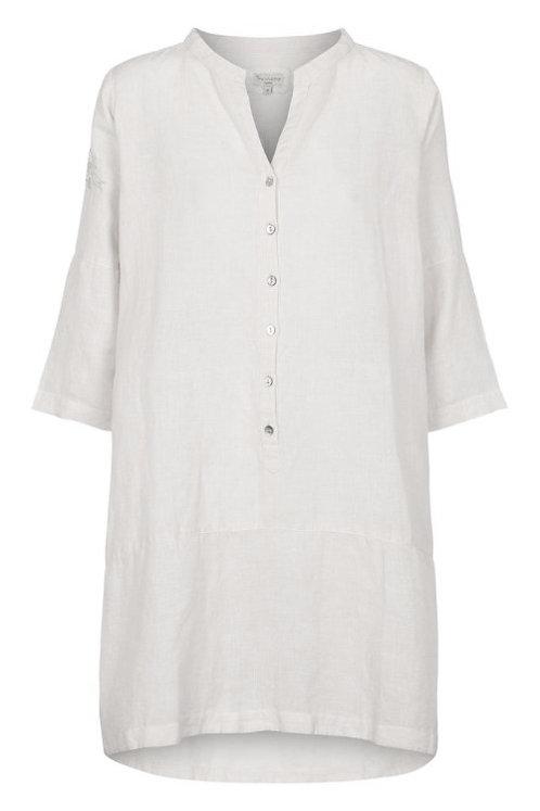 3716B - Linen Shirt - Off.White