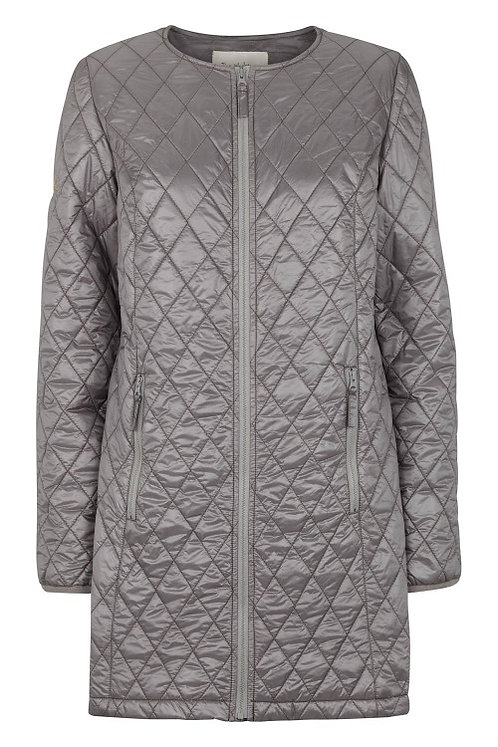 3302J - Quiltet coat – Silk Mink