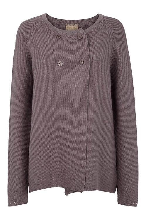3279J - Cotton cardigan - Silk mink