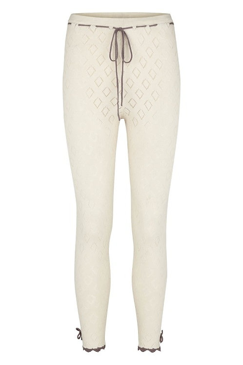 3285B - Cotton knit pants – Pearl