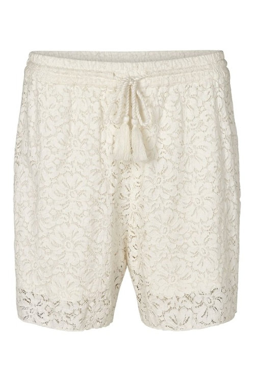 3733B - Lace Shorts - Off.White