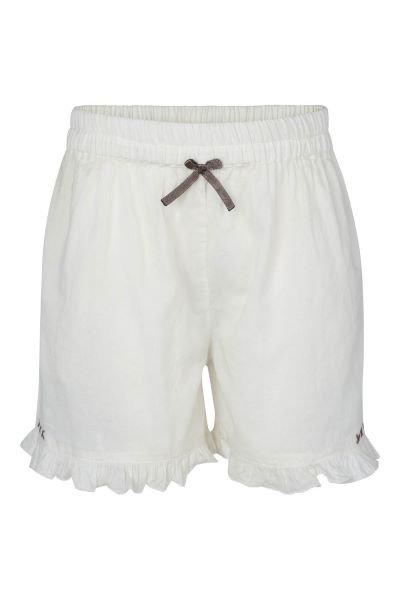 3372B - Shorts/panty w.frill - Pearl