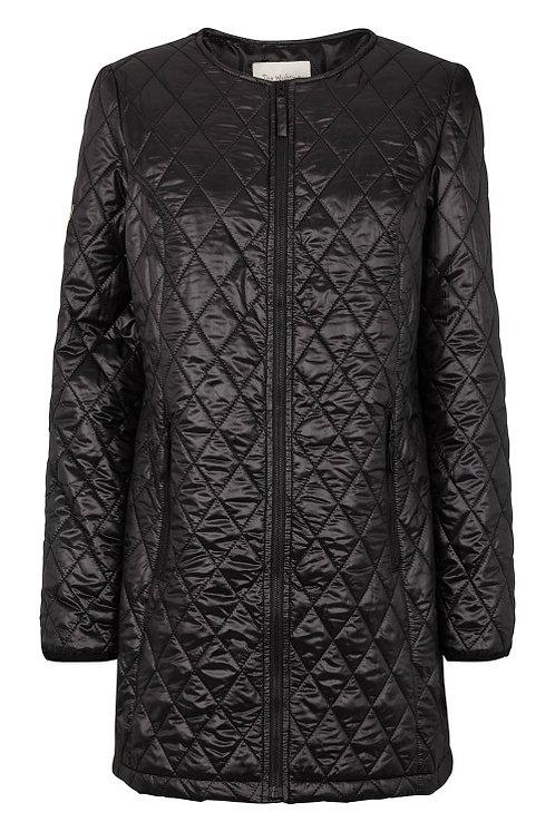 3302D - Quiltet coat – Purple