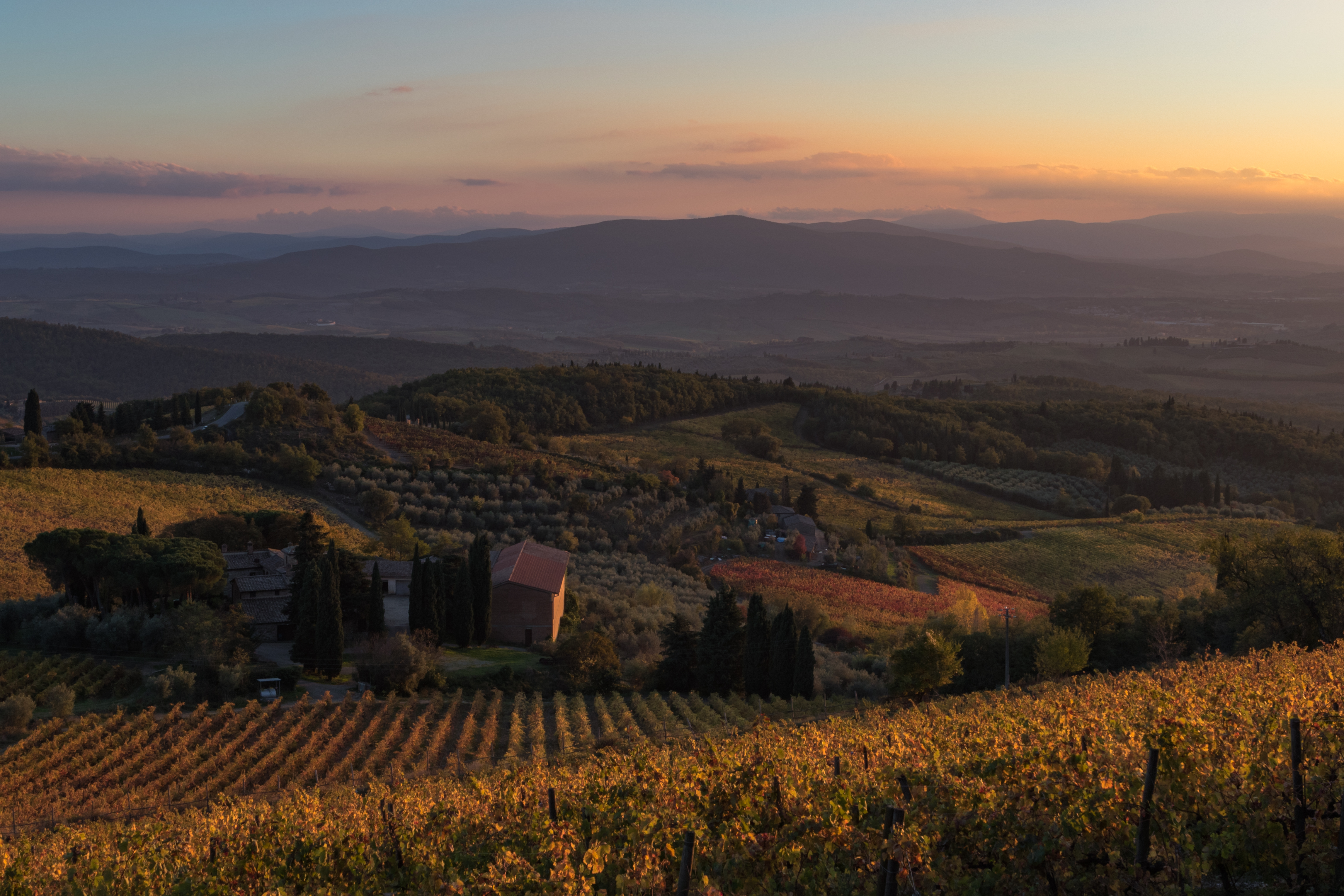 Tuscan Sunset.