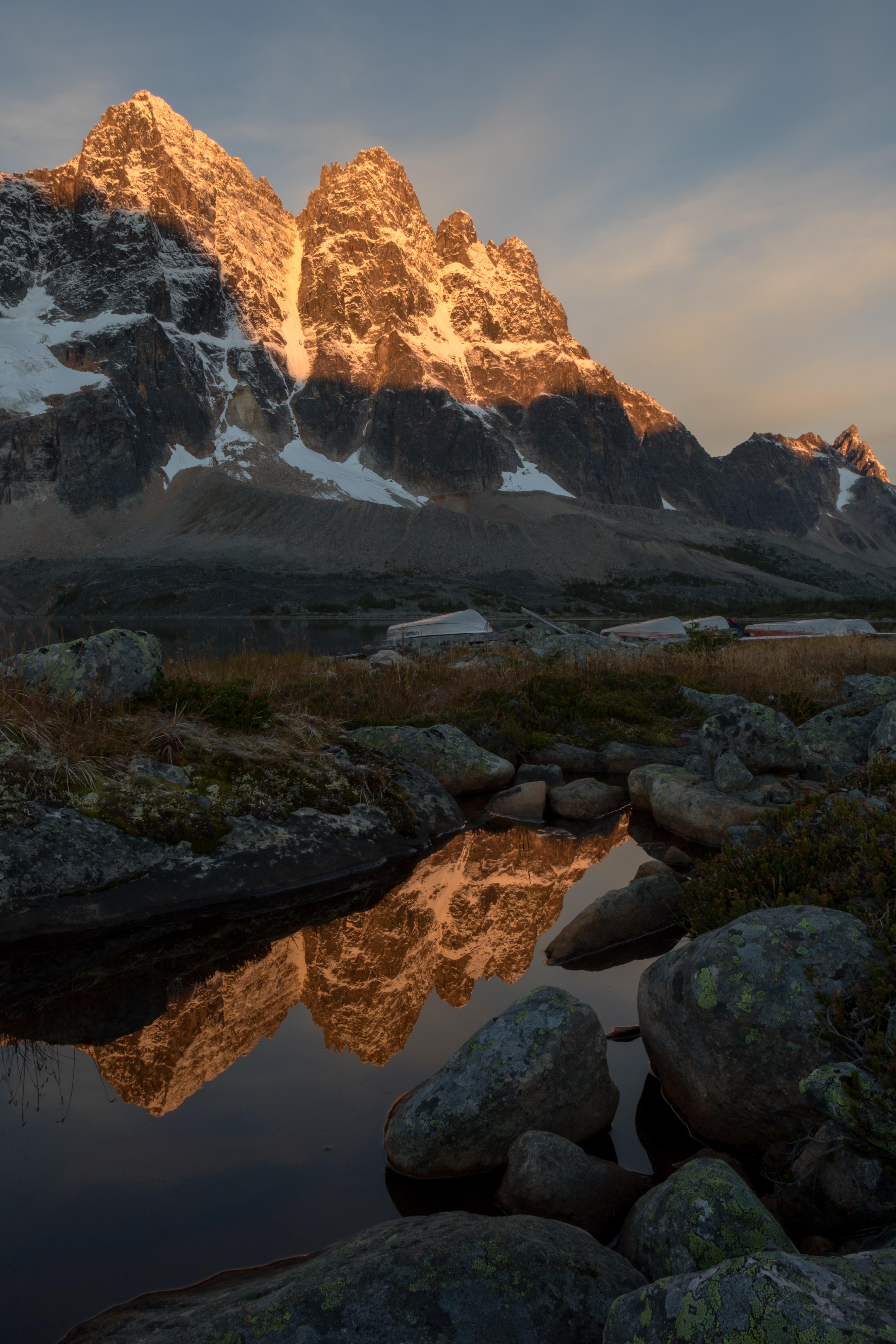 Sunrise Peaks.