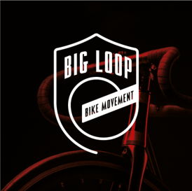 big loop bikes logo on bike background.p