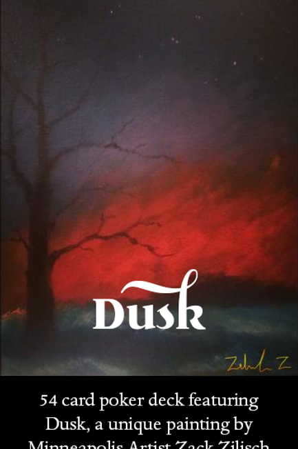 DUSK - Zack Pack Cards