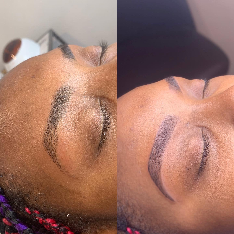 Microblading and Microshading Eyebrows