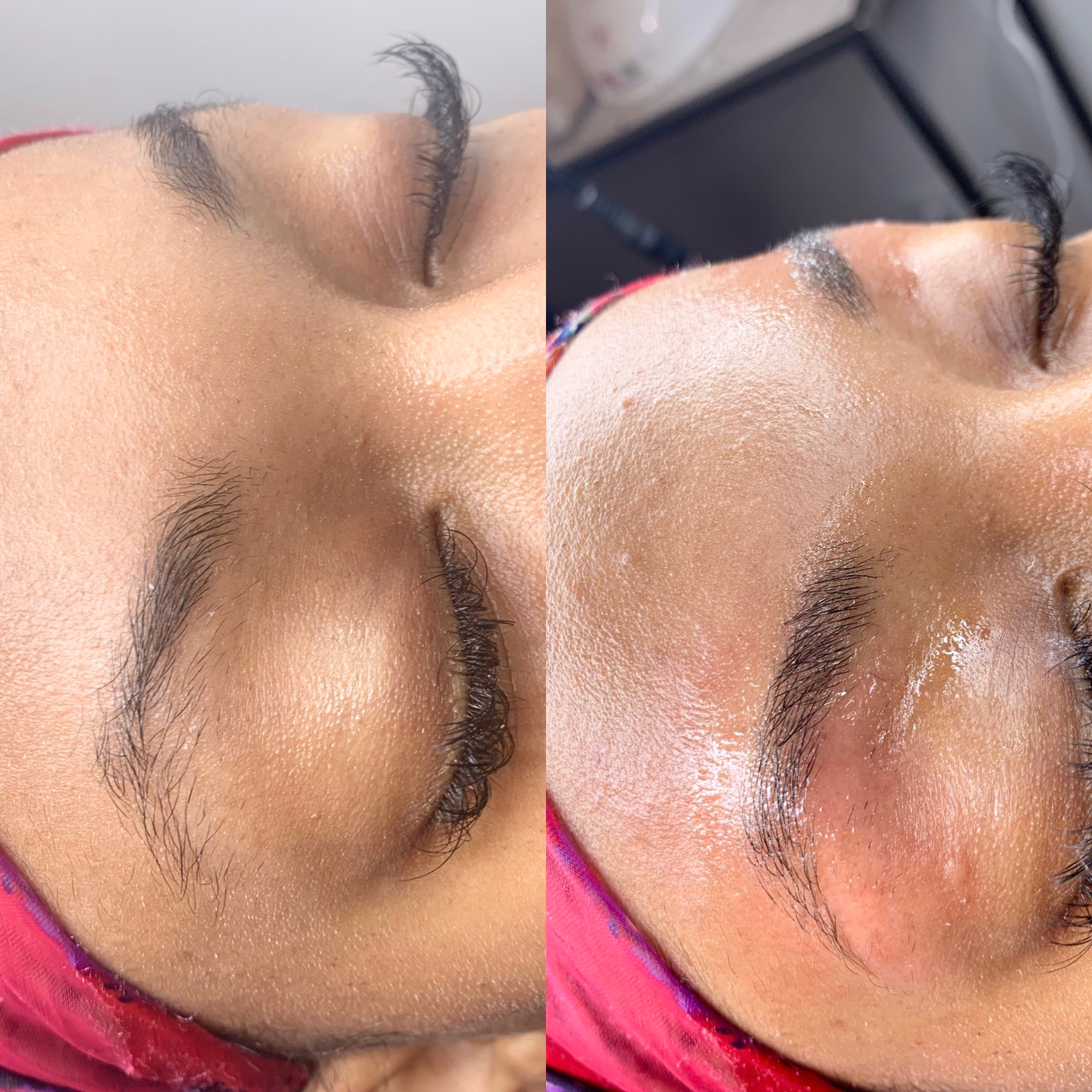 Eyebrow Cleaning
