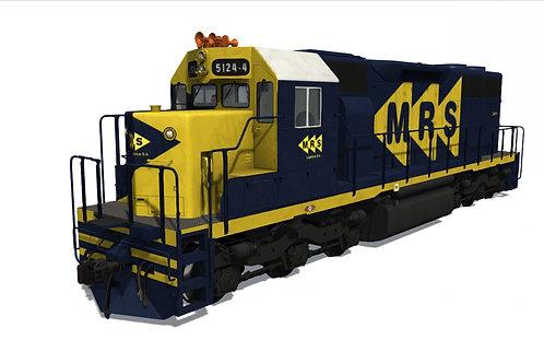 GM/EMD - SD38M MRS (5124-4 Unit)